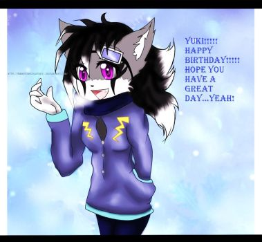 Happy Birthday Yuki! :gift: by TheHOTChocolate911