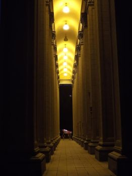 Colonnade by Aby-of-N-city
