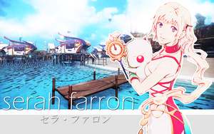 Serah wallpaper by Ceodorre