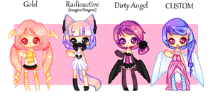 Song based adopts//OPEN by MellowBunBun