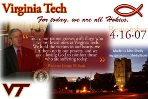 Virginia Tech by shellyllauer