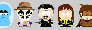 Watchmen South Park by tree27