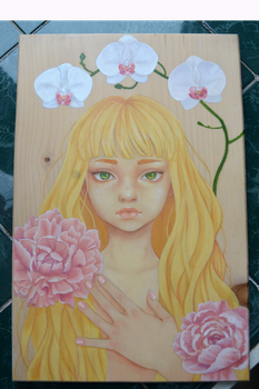 Oil painting by ivymint