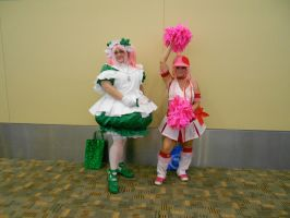 Otakon 2012 - Su and Ran [Shugo Chara] by Angel1224