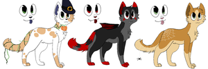 .:CLOSED:. Halloween Adopts #2 by JewelyCat