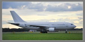 Spotting Airbus A310 Blue line by MarcinG1