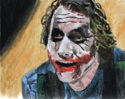 heath ledger- the joker by makeastatueofus