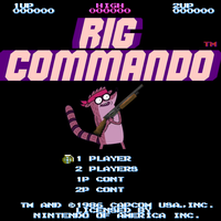 Rig Commando NES by PanzerKnacker73