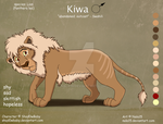Kiwa - Character Sheet Commission (Adult Design) by Nala15