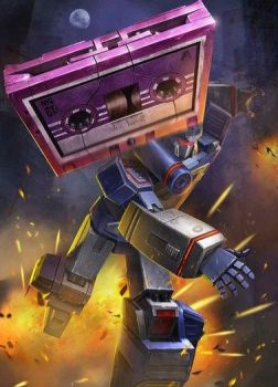 G1 Ratbat From Transformers Legends Game by DarthScholz