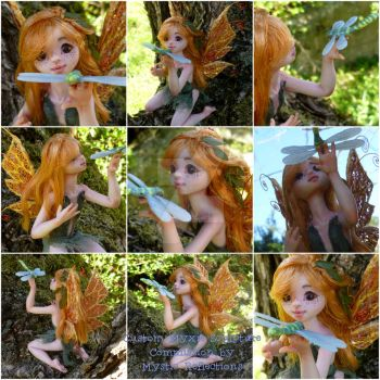 Custom Myxie holding Dragonfly by MysticReflections