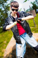 ColossalCon 2015 - Kung Fury(PS) 02 by VideoGameStupid