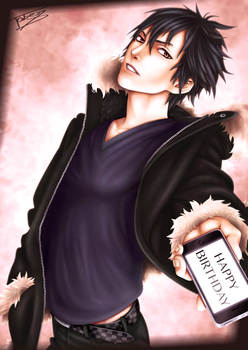 Izaya Orihara - Happy Birthday by TobeyD