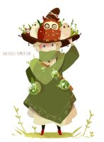 Witchsona: the owl witch by Owlyjules