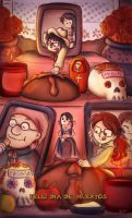 Happy Day of the Dead by arminis