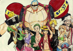 Strawhats! by lunalove2