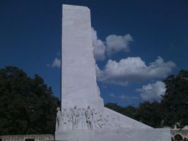 Monument by Alamo by ViridiVulpes