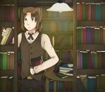 [APH] Lithuania - Searching in the libary by Anni-the-cat