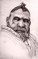 zoltan a dwarf portrait by ArthusokD