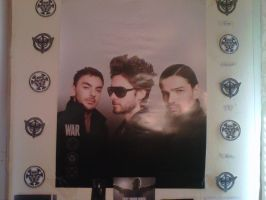 Part 2 of My Jared Leto Wall by EchelonMars14