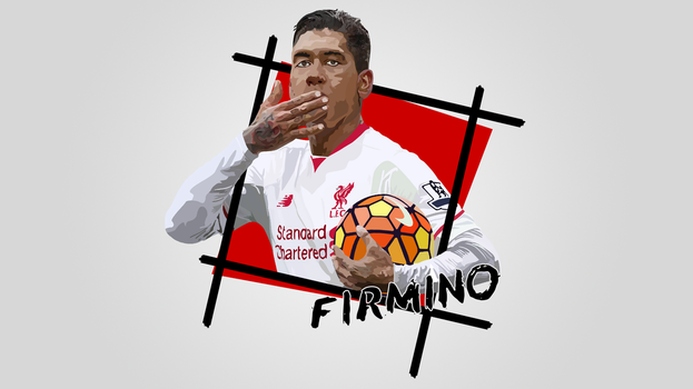 Wallpaper | Firmino *text* *new* by NiromaArts