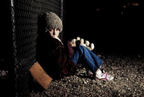 Homeless child 4 by fotograff