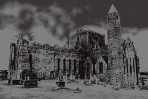 The Rock Of Cashel by DavidDoylearts