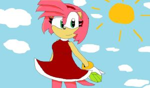 _Amy Rose_ by sonicandshadowfan