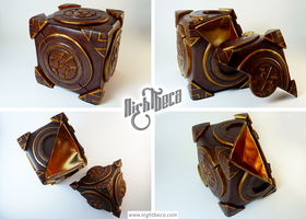 Skyrim Runic Lexicon Box by Melchiahim