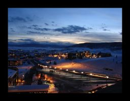 Sunset Over Steamboat by L33tmaster5000
