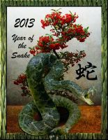 Year Of The Snake by thefantasim