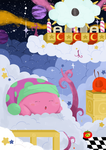 A Nap In Bubbly Clouds. (KIRBY FANART) by danny-spikes