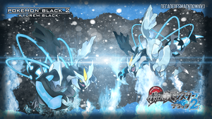 Pokemon Black 2 - Kyurem Black by DecadeofSmackdownV3