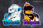 Badge Commission: Ifus by SilverDeni