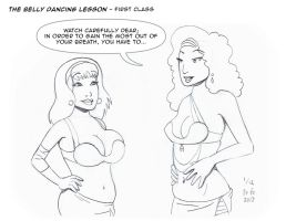 The Belly Dancing Lesson - 1 of 12 by doctorbo