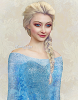 Real Disney - Elsa by Nikmarvel