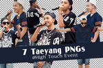 [PNG] 7 Taeyang PNGs @ High Touch Event by SammyYun