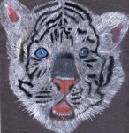 Siberian Tiger by InsaneChocoboLover-2
