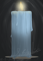 Blue Candle by Sisa611