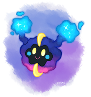 Space Cheerleader -Cosmog- by Carons