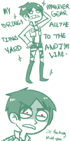 brings all the titans to the yard by Sellotape-of-Love