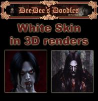 White Skin in 3D Renders by 3D-Fantasy-Art