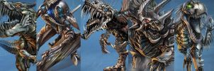 Age Of Extinction Dinobots by Transformersguy1000