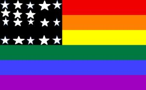 US Gay Pride Flag by DisneyMaster