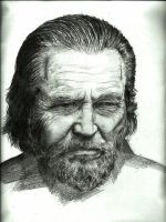 Jeff Bridges Portrait by jiehng