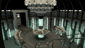 Matt Smith New TARDIS Interior (WIP -2) by Davros-the-2nd