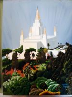Oakland Temple by alliartist