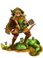 Dragon's Crown Elf by Crew1
