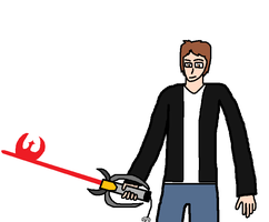 Me with my Keyblade by blackevil915