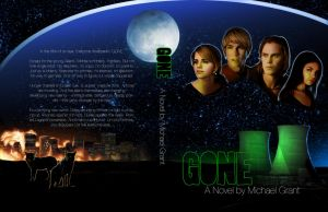 GONE - Book cover by Ingvild-S